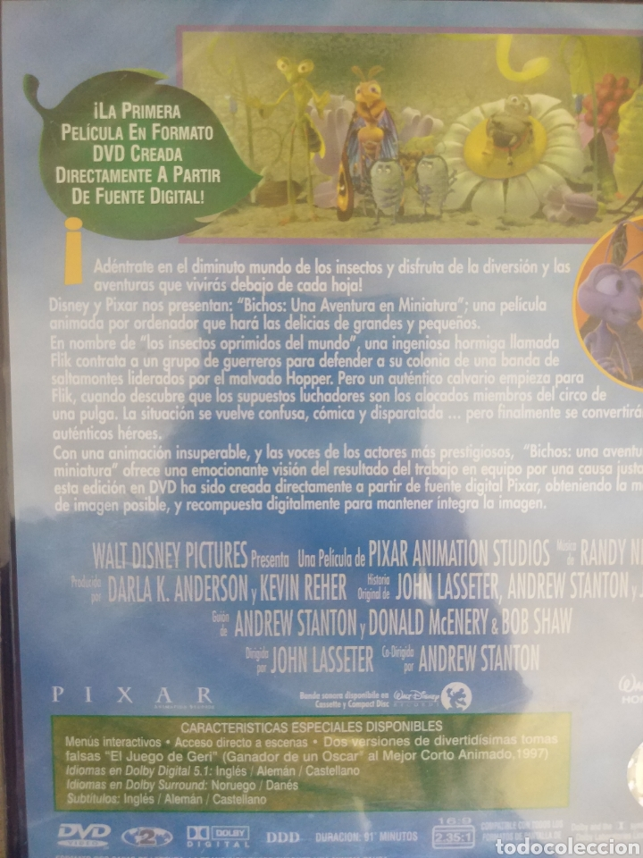 Cine: BICHOS DVD. Una aventura en miniatura PRECINTADO - Foto 4 - 205016763