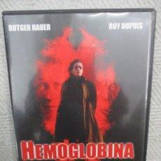 Cine: DVD - HEMOGLOBINA / RUTGER HADER, ROY DUPUIS - PEDIDO MINIMO DE 10€. Lote 205036675