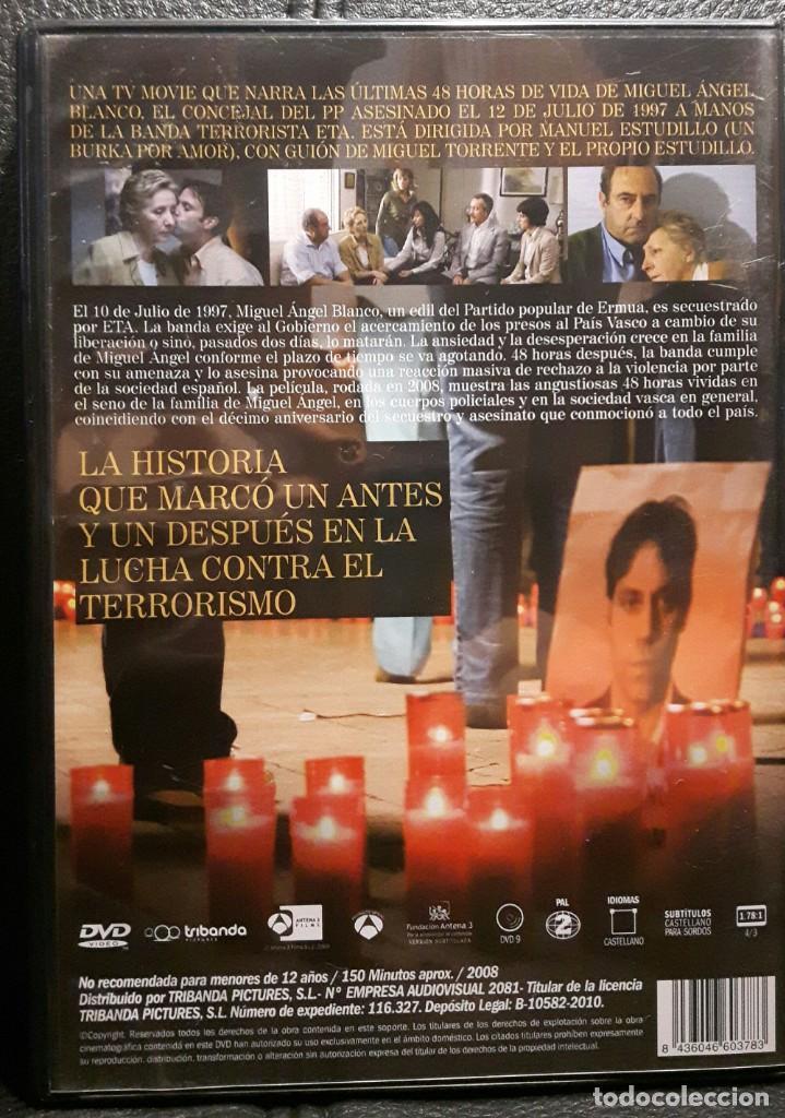 Cine: 48 HORAS - DVD - ORIGINAL - DESCATALOGADA - SILVIA ABASCAL - ROBERTO ALVAREZ - CINE ESPAÑOL - Foto 2 - 205293208