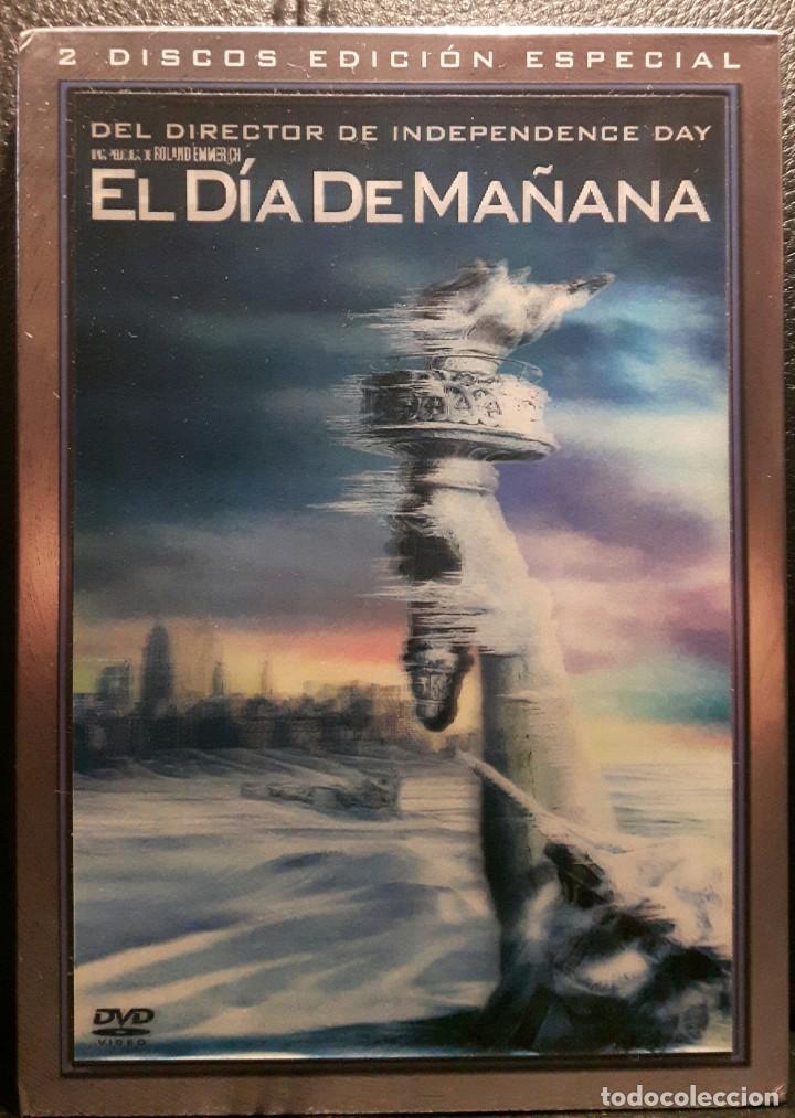 EL DIA DE MAÑANA - DVD - EDICION ESPECIAL HOLOGRAFICA 2 DISCOS - DESCATALOGADA - EMMY ROSSUM (Cine - Películas - DVD)