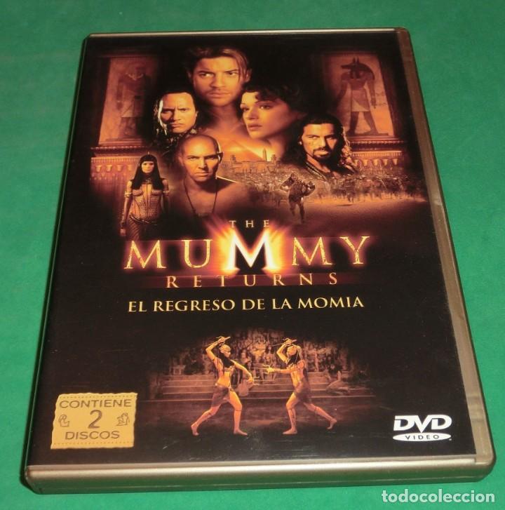 DVD EL REGRESO DE LA MOMIA / BRENDAN FRASER (EDIC.ESPECIAL-2 DVD´S (UN SOLO PASE) PERFECTO ESTADO!!! (Cine - Películas - DVD)