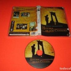 Cine: HISTORIA DE DOS CIUDADES - DVD - FILMAX - BASADA EN LA NOVELA DE CHARLES DICKENS. Lote 205575421