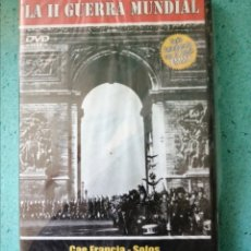Cine: DVD LA SEGUNDA GUERRA MUNDIAL CAE - FRANCIA. LA CAÍDA . PERMIO EMMY. NÚMERO 2.(NUEVA PRECINTADA. Lote 205606150