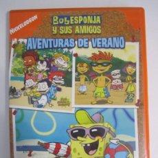 Cine: DVD BOB ESPONJA Y SUS AMIGOS AVENTURAS DE VERANO. Lote 205673801