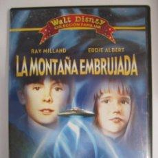 Cine: DVD LA MONTAÑA EMBRUJADA WALT DISNEY COLECCION FAMILIAR RAY MILLAND EDDIE ALBERT. Lote 205676353