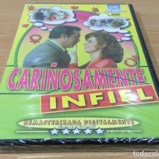 Cine: DVD CINE ESPAÑOL - CARIÑOSAMENTE INFIEL (1980), CON RICARDO MERINO Y MARÍA KOSTY. NUEVA, PRECINTADA. Lote 161755774
