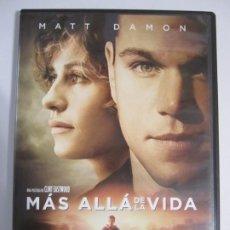 Cine: DVD MAS ALLA DE LA VIDA MATT DAMON. Lote 205723521
