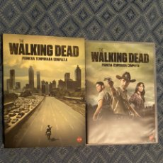 Cine: THE WALKING DEAD PRIMERA TEMPORADA COMPLETA 2 DVDS. Lote 177430563