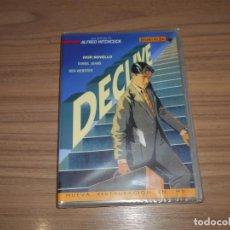 Cine: DECLIVE RESTAURADA EN HD DVD ORIGENES DEL CINE ALFRED HITCHCOCK NUEVA PRECINTADA. Lote 205799371