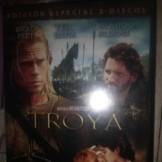 Cine: TROYA BRAD PITT 2 DISCOS. Lote 205831170