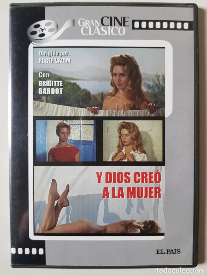 Y DIOS CREO A LA MUJER (1956), DE ROGER VADIM, CON BRIGITTE BARDOT, CURT JURGENS, J.L.TRINTIGNANT (Cine - Películas - DVD)