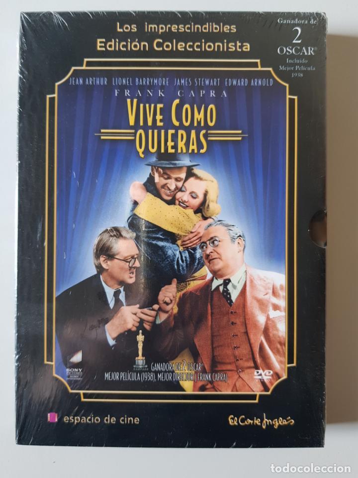 VIVE COMO QUIERAS (1938), DE FRANK CAPRA, CON JEAN ARTHUR, LIONEL BARRYMORE, JAMES STEWART, ETC (Cine - Películas - DVD)