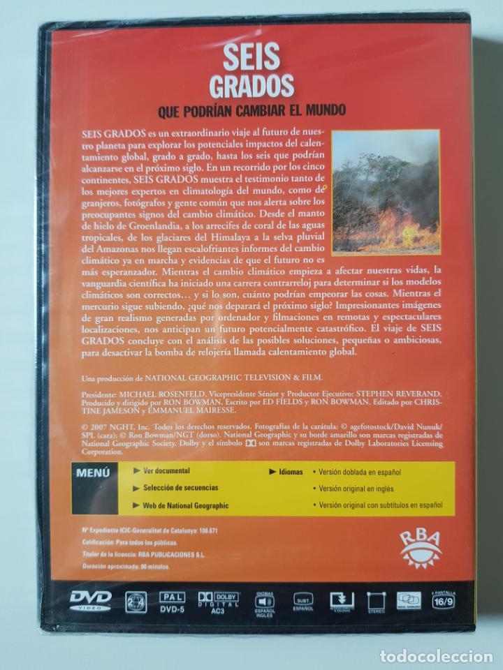 Cine: Seis grados que podrían cambiar el mundo. National Geographic (2007) - PRECINTADO - Foto 2 - 205850918