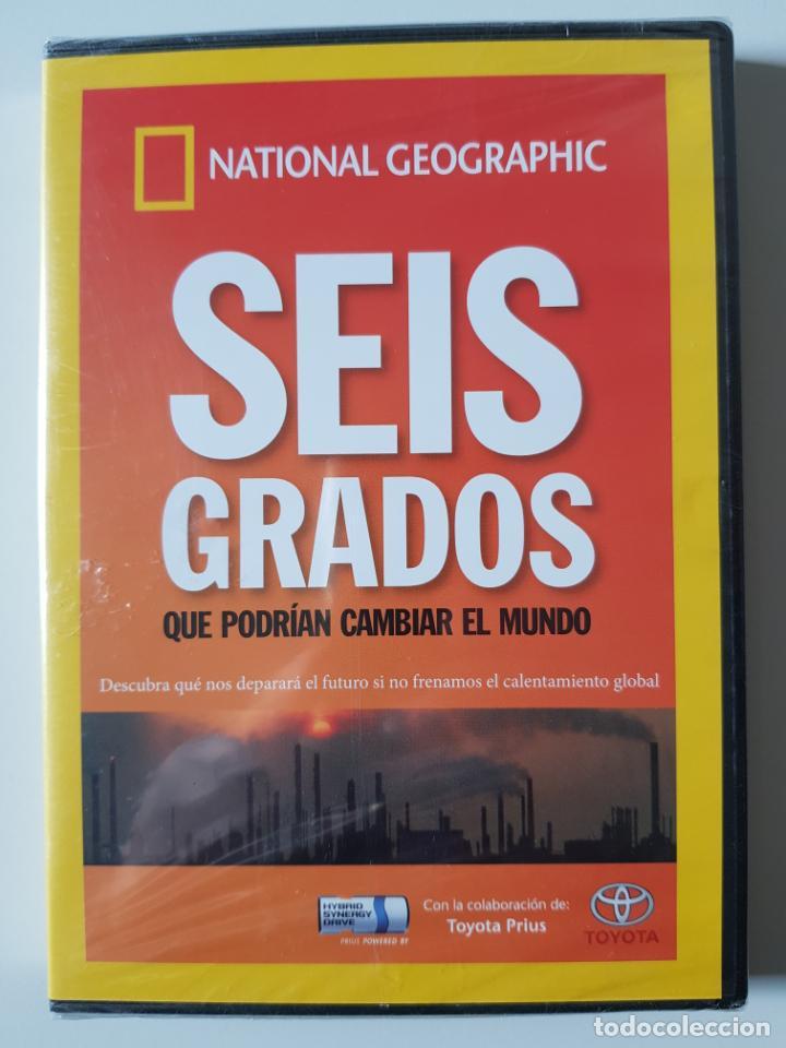 SEIS GRADOS QUE PODRÍAN CAMBIAR EL MUNDO. NATIONAL GEOGRAPHIC (2007) - PRECINTADO (Cine - Películas - DVD)