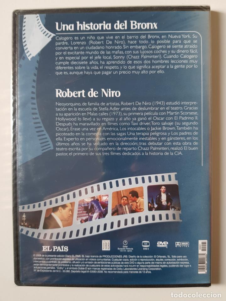 Cine: Una historia del Bronx (1993), de Robert de Niro, con Robert de Niro, Chazz Palminteri -PRECINTADO - Foto 2 - 205850928