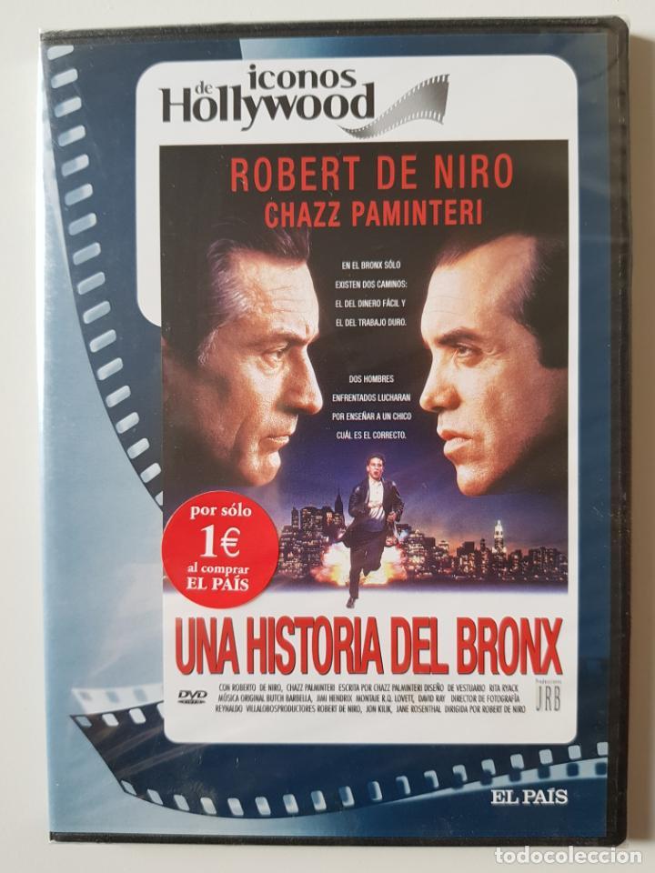 UNA HISTORIA DEL BRONX (1993), DE ROBERT DE NIRO, CON ROBERT DE NIRO, CHAZZ PALMINTERI -PRECINTADO (Cine - Películas - DVD)