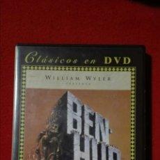 Cine: DVD BEN-HUR - WILLIAM WYLER - CHARLTON HESTON. Lote 205861307