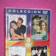 Cine: LOTE 4 PELÍCULAS (CINE COMEDIA, DRAMA, SUSPENSE, ..) *** 4 FILMS EN 2 DVD *** TENGO OTRAS DIFERENTES. Lote 205880392