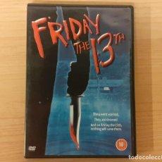 Cine: VIERNES 13 (FRIDAY THE 13TH) 1980 SLASHER SEAN S. CUNNINGHAM, EDICIÓN UK SUBT. CASTELLANO. Lote 205898608