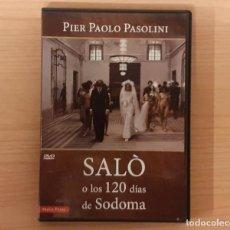 Cine: SALÓ O LOS 120 DÍAS DE SODOMA (SALÒ O LE 120 GIORNATE DI SODOMA) PIER PAOLO PASOLINI. Lote 206119550