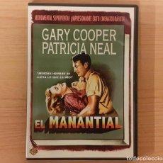 Cine: EL MANANTIAL (THE FOUNTAINHEAD) KING VIDOR, GARY COOPER, PATRICIA NEAL (DESCATALOGADA). Lote 206121396