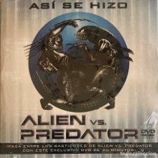 Cine: DVD NUEVO PRECINTADO ALIEN VS PREDATOR ASI SE HIZO DISCO PROMOCIONAL PELÍCULA. Lote 206147721