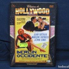 Cinema: BERLIN OCCIDENTE - DVD. Lote 206164570