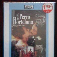 Cine: TODODVD: PRECINTADO. EL PERRO DEL HORTELANO (PILAR MIRÓ / EMMA SUÁREZ, CARMELO GÓMEZ, ANA DUATO). Lote 206188506