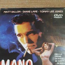Cine: MANO DE ORO MATT DILLON DIANE LANE TOMMY LEE JONES PRECINTADA 246. Lote 206188531