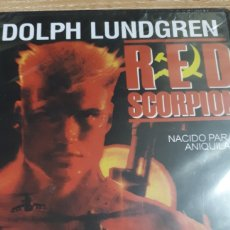 Cine: RED SCORPION DOLPH LUNDGREN PRECINTADA 249. Lote 206188593