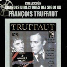 Cine: EL ULTIMO METRO. DVD. Lote 206190403