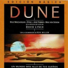 Cine: DUNE. EDICIÓN BÁSICA. DVD. Lote 206190438