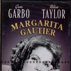 Cine: MARGARITA GAUTIER DVD (GEORGE CUKOR + GRETA GARBO) ...UN DUO INSUPERABLE PARA UN DRAMA INTENSO. Lote 206190728