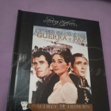 Cine: DVD. GUERRA Y PAZ. CON AUDREY HEPBURN. INCLUYE LIBRETO DE 60 PÁGINAS A COLOR.. Lote 206241686