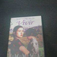 Cinema: DVS12- VIVIR -DVD SEGUNDAMANO TAPA FINA. Lote 206314302