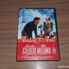 Cinema: ADELANTE MI AMOR DVD CLAUDETTE COLBERT RAY MILLAND NUEVA PRECINTADA. Lote 206344552