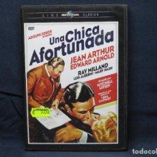 Cinema: UNA CHICA AFORTUNADA - DVD. Lote 206368467