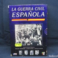 Cine: LA GUERRA CIVIL ESPAÑOLA - DVD DOCUMENTAL. Lote 206376212
