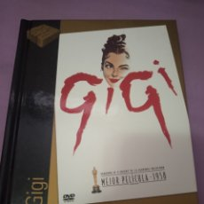 Cine: DVD. GIGI. AUDREY HEPBURN. INCLUYE LIBRETO DE 60 PÁGINAS A COLOR.. Lote 206385925