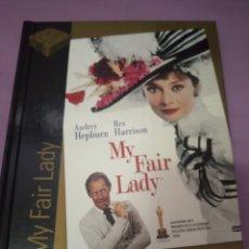 Cine: DVD. MY FAIR LADY. AUDREY HEPBURN. INCLUYE LIBRETO DE 60 PÁGINAS A COLOR.. Lote 206386275