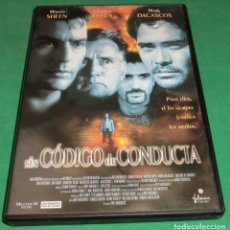 Cine: DVD SIN CÓDIGO DE CONDUCTA / MARTIN SHEEN / CHARLES SHEEN (UN SOLO PASE) PERFECTO ESTADO!!!. Lote 206411896