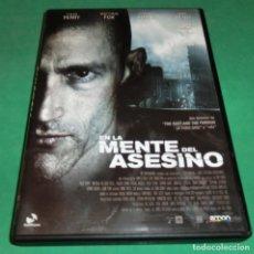 Cine: DVD EN LA MENTE DEL ASESINO / MATTHEW FOX / JEAN RENO (UN SOLO PASE) PERFECTO ESTADO!!!. Lote 206421183