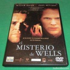 Cine: DVD EL MISTERIO DE WELLS / WILLEM DAFOE / PAUL BETTANY (UN SOLO PASE) PERFECTO ESTADO!!!. Lote 206510410