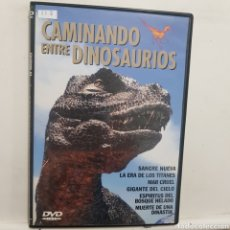 Cinema: DVR.113 CAMINANDO ENTRE DINOSAURIOS DVD METIDO EN SLIM CON SLICOVER RECORTADO. Lote 206519542