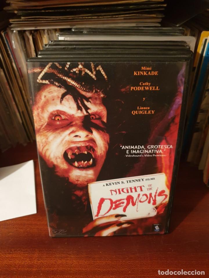 NIGHT OF THE DEMONS (Cine - Películas - DVD)