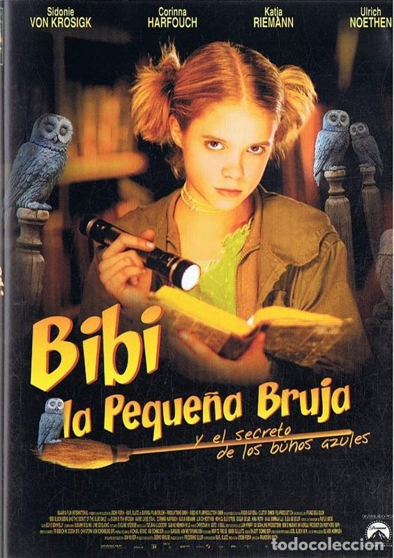 BIBI LA PEQUEÑA BRUJA Y EL SECRETO DE LOS BÚHOS AZULES (Cine - Películas - DVD)