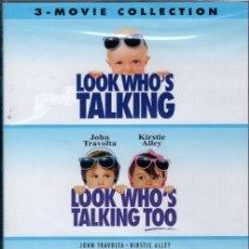 Cine: MIRA QUIEN HABLA DVD LA TRILOGIA ( EN ESPAÑOL AUDIO O SUBTÍTULOS) UN HARTON DE REIRSE.. Lote 206598285