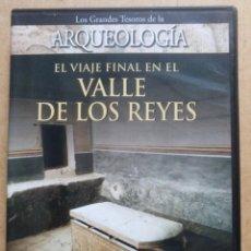 Cine: CINE, DVD REPORTAJE EGIPTO, EL VIAJE FINAL EN EL VALLE DE LOS REYES, DISCOVERY CHANEL. Lote 206598502