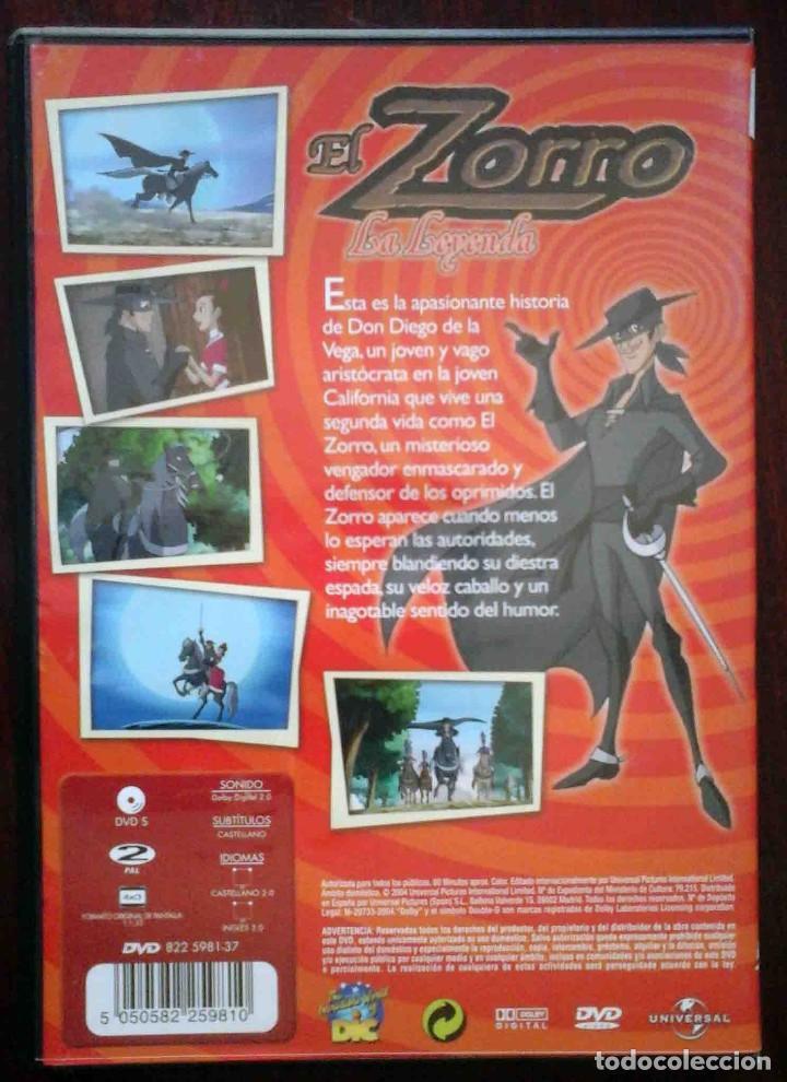 Cine: TODODVD: El Zorro. La leyenda. Animación. - Foto 2 - 206839210