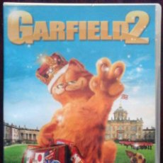 Cine: TODODVD: GARFIELD 2 (TIM HILL / JENNIFER LOVE HEWITT, BRECKIN MEYER, BILLY CONNOLLY, LUCY DAVIS). Lote 206839375